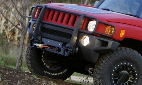 DOI H3 winch mount bumper